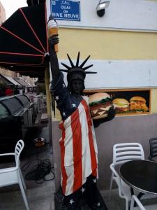 Trochu jiná socha svobody