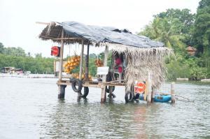 Rychlé občerstvení na řece